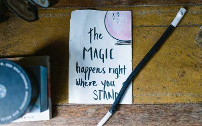 Encontraste una varita mágica, ¿cuáles serían las primeras cinco cosas que harías con ella?