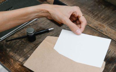 Escribir cartas para liberar emociones